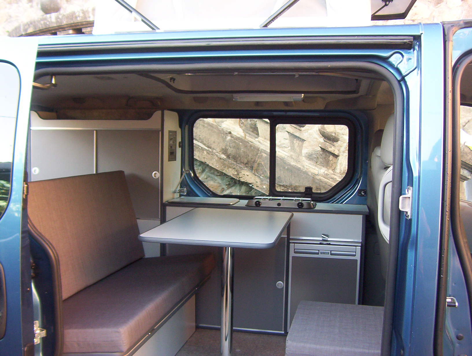 Amenagement trafic l2h1 camping car for Amenagement interieur camping car